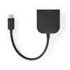 Nedis USB-c 3.2 Gen1 Ma > DVI-D 24+1-Pin Fe 0.2m