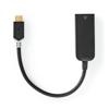 Nedis USB-c 3.2 Gen1 Ma > RJ45 Fe 1000Mbps 0.2m