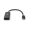 Nedis USB-c 3.2 Gen1 Ma > DisplayPort Fe 0.2m