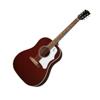 Gibson 60s J-45 Original Adj Saddle (no pickup) | Wine Red