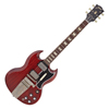 Gibson 1964 SG Standard Reissue w/ Maestro Vibrola VOS Cherry Red