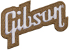 Gibson Logo Patch Gold