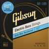 Gibson Long Scale Brite Wire Electric Bass Strings 4-String Roundwound Medium